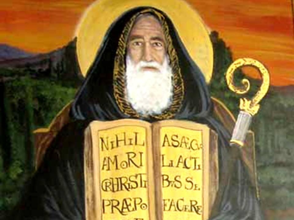 oraciones a San Benito para separar